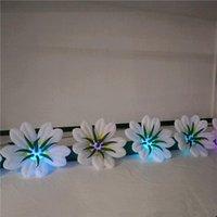 웨딩 장식 또는 음악 파티 이벤트 무대 장식을위한 LED와 CE 송풍기와 풍선 꽃 체인