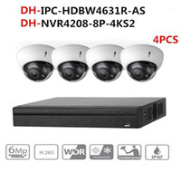 Dahua CCTV Camera Security System Kit 4Pcs 6MP IP Camera IPC...