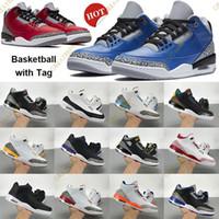 2021 Nuova scarpe da basket nero Nero Cemento Bianco 2011 Uomini Donne Sneakers Varsity Royal Cement SE Fire RED UNC 2020 Scarpe da ginnastica con tag