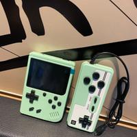 Portátil Pandheld Video Game Console Retro 8 Bit Mini Game Jugadores 400 juegos 3 en 1 AV Games With Control Pocket GameBoy Color LCD