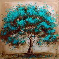 DIY 5d Volldiamant Malerei Kreuzstich Schöne Blaue Baum Diamant Stickerei Handarbeit Muster Strass Kits1