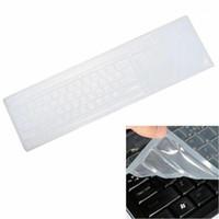 Coperture da tastiera 1PC Desktop Universal Computer Membrana Pellicola Protettiva Pellicola Antibatterica anti-polvere Antifouling1