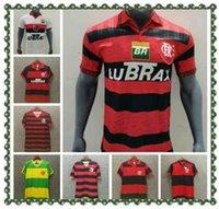 Flamengo Retro 2009 2009 Futebol Jerseys 08 09 Nome personalizado Número 10 pode Personizal Patrocinador Completo Grande tamanho XXL Flemish Futebol Camisas