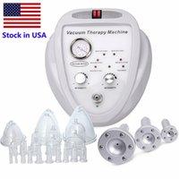 Estoque em EUA Quente Novo Listagem Vácuo Massagem Terapia Alargamento Bomba Levantando Massager Massager Massager Busto Copo Corpo Máquina de Beleza