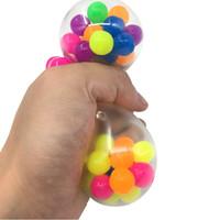 مكافحة الإجهاد وجه المخلص الملونة الكرة التوحد مزاج الضغط الإغاثة صحية لعبة مضحك أداة تنفيس لعبة الأطفال هدية عيد