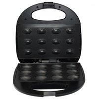 Elettrico Noce Cake Maker Automatico Mini Dado Waffle Bread Machine Sandwich Iron Tostapane Blocchi Colazione Pan Forno AU Plug1