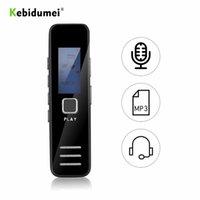 デジタルボイスレコーダーKbidumeiミニオーディオペン20時間録音アクティブな電話レコードMP3プレーヤーDICTAPHONE