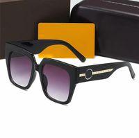 2021 Yeni Tasarımcı Güneş Gözlüğü Marka Gözlük Açık Şemsiye PC Çerçeve Moda Klasik Bayanlar Lüks 1074 Güneş Gözlüğü Gölge Ayna Kadınlar