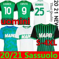 20 21 SASSUOLO SOCCER JERSEYS 100ème Centenary Berardi Boga Locatelli 2020 2021 Accueil Elevé Maglietta Calcio Traore Football Shirts S-4XL