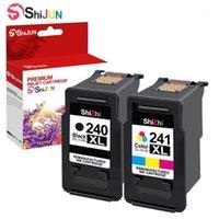 Cartuccia di inchiostro Shijun Compatibile per PG 240XL CL 241XL per Canon Pixma MG3620 MG3520 MG3220 MG2220 MG3220 MG2220 MG2120 MX532 MX472 432 Printer11