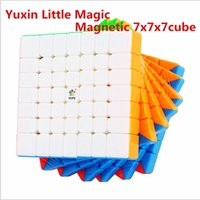Yuxin Little Magic M 7x7x7 Magnético Cube Magic Cube 7x7 Speed Cube Puzzle Zhisheng Cubo Magico Competición Cubes Y200428