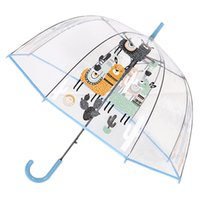 SafeBet Alpaca Parapluie Enfants Parapluies transparentes Cartoon Licorne Parapluie Enfants Rainbow Umbrellas semi automatique DropShipp 201110