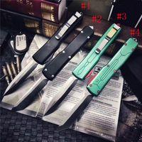 MIC MT Автоматический нож UT85 самооборона Тактический D2 Blade алюминиевая ручка EDC Открытый кемпинг Карманные боевые съемки Авто ножи UT88 C07 Infidel Hodfather 920 Exocet A07