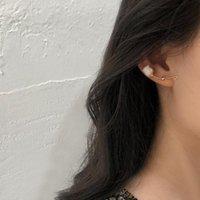 AENSOA Korean New Arrival Sweet Stone Holiday Flower Drop Earrings For Women Fashion Elegant Stone Earring Oorbellen Bijoux