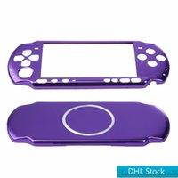 الأسهم dhl مجانية 7 ألوان الألومنيوم الصلب حالة الغطاء شل حارس حامي لسوني PSP 3000 سليم وحدة التحكم