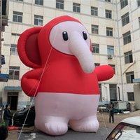 Riesiger aufblasbarer Ball aufblasbare Maskottchen Elefant mit kostenloser Lieferung für Outdoor oder in der happelnden Weihnachtsdekoration
