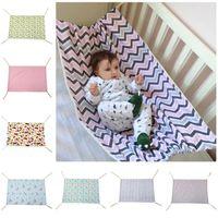 100 * 70см новорожденного кроватки младенческий гамак Baby Changmat напечатанный путешествие портативный ребенок спальный кровать съемный бассиновый кроваток гамака RN8108