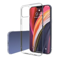 For IPhone12 Mobile Phone Case Transparent Anti-Drop TPU Apple 11Promax Mobile Phone Case Cell Phone Cases