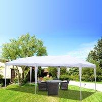 10x20ft Accueil Utilisez une tente de pliage extérieure 3x6m Camping Waterproof Wedding Party Gazebo Easy Pop-Up Beach Auvent avec sac de transport Hot Article