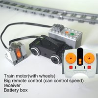 Train Motor Technic Parts Leduo Multi Power Функции Инструмент Серво Блоки Поезд База PF Наборы Совместимые Все бренды Q1126