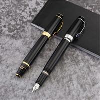 Edición limitada Bohemies Classic Extend-Retract Nib Fountain Pen Top High Quality 14k Business Office Tinta Pluma con diamante y número de serie