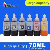 Kit de recharge d'encre à imprimante M y pour L100 L110 L120 L132 L210 L222 L300 L312 L355 L350 L362 L366 L550 L555 L566 Imprimante1 Kits