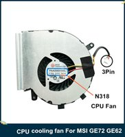 Dizüstü Soğutma Pedleri LSC Orijinal CPU Soğutucu Fan MSI GE72 GE62 PE60 PE70 GL62 GL72 PC N318 yerine