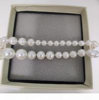 Nuevos productos Cadena Collar Nuevo producto Elegante Collar de perlas Salvaje Wild Fashion Woman Necklace Exquisito Joyería Suministro