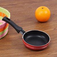 Mini Kleiner Pfanne Verdickung Flacher Bodentopf Einzelperson Kitchen Praktisches Gadget Einfach zu reinigen 4 96JQ J3