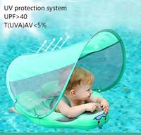 Enfants Bébé Natation Ringswith Canopy Bague de bain avec Sun Shade Aucune gonflable pour bébé Accessoires de baignade Flottant S Bbyjdh Alice_bag