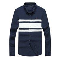 2021 nuove camicie casual da uomo Harmont Blaine manica lunga uomo marca sociale homme camicia camisa hombre masculina chemise top uvif