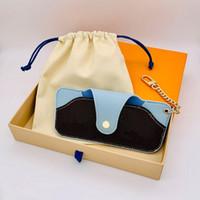 Sacs de rangement design avec boîte et sac à poussière Femmes hommes classiques Mode Cuir Portefeuille Monnaie Porte-cartes Porte-monnaie Cadeaux de Noël