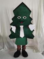Costume da mascotte dell'albero di Natale personalizzato per i costumi della mascotte del personaggio dei cartoni animati del partito in vendita Personalizzazione del supporto di trasporto libero