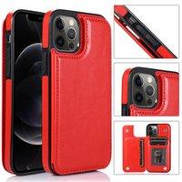 محفظة فاخرة حالة جلدية ل iPhone12Pro Mazx 11 7 8 XR حالة الهاتف المحمول لسامسونج S20 Note10