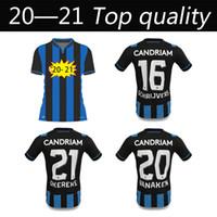 20 21 Kulübü Brugge Circle KV Futbol Gömlek Üniforma Ev Uzaktan 2020 2021 Belçika Bruges Futbol Jersey Vormer Vanaken Diatta