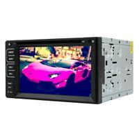 RUNGRACE UNIVERAL 62 인치 2 DIN TFT 스크린 In-Dash 자동차 DVD 플레이어 RDS 블루투스 ATV