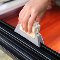 2020 새로운 뜨거운 창 그루브 청소 천 창 청소 브러시 윈도우 슬롯 클리너 브러쉬 클린 창 슬롯 클린 도구