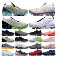 3. 0 plus mens running shoes women trainers Triple Black Whit...