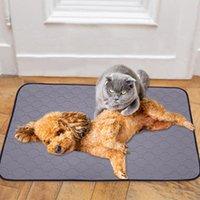 Kedi Yatakları Mobilya Kullanımlık Bezi Köpek Su Geçirmez Pet İşe Pedleri Mat Yatak İdrar Yavru Ped Soğutma 70x90 cm