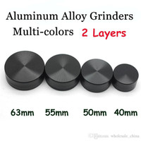 Aluminum Alloy Herbal Grinder 2 Layers Herb Smoking Grinders...