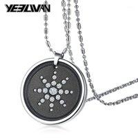 Ожерелья подвеска Ожерелье Ожерелье Мощный скалярный биоэнергетический квантовый магнитный здоровье Power Choker Chain Change Peen1