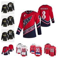 Washington Capitals 2021 Reverse Retro Hockey Jersey John Carlson Ilya Kovalchuk Nicklas Backstrom Jakub Vrana Richard Panik Custom Stitche