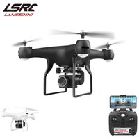 Drohnen Lansenxi 2021 RC DRONE F68 WIFI FPV 4K HD-Kamera ESC-ESC-Luftpographie, Quadrotor-Drohne, 25 Minuten Flug, Geschenk