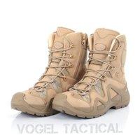 Vogel Lowa Zephyr Hommes Bottes militaire Quality Force spéciale Tactical Desert Combat Bateaux Bateaux Armée Chaussures de travail en cuir Bottes de neige en cuir 201126