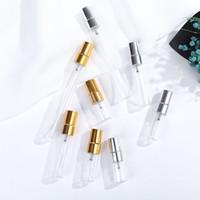 2ml 3ml 5ml 10ml mini mini bolso vidro frasco de perfume caneta portátil forma frasco de bomba de pulverização em estoque