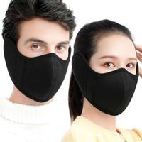 Hot Winter algodón máscara caliente máscara orejeras máscara mascarilla hombres y mujeres al aire libre montar en la mascarilla a prueba de frío regalo wxy062