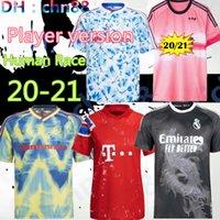 Версия для игрока Человеческая гонка 2020 Real Madrid Manchester Fernandes Greeenwood Pogba United Soccer Technys 20 21 Боевые Рашфорд Футбол