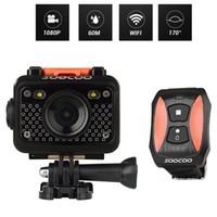 Soocoo S60 HD 1080P 15 인치 LCD 화면 WiFi 스포츠 카메라 170도 광각 렌즈 60m 방수