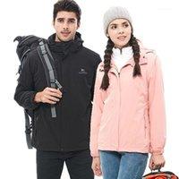 남자 다운 파카 남자 여자 겨울 방수 낚시 스키 따뜻한 Softshell Fleece 하이킹 야외 트레킹 옴므 캠핑 재킷 플러스 M-5XL