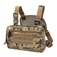 Tacticear Tactical Hunting Cuss Bag Bag Bag Открытый Airsoft Tactical Жилет Аксессуары Чехол Портативный Тактический Сундук Сумка 201214